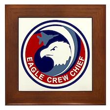 F-15 Eagle Crew Chief Framed Tile