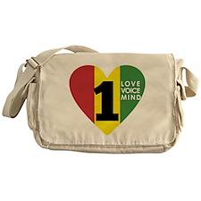 NEW-One-Love-voice-mind7 Messenger Bag