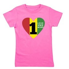 NEW-One-Love-voice-mind7 Girl's Tee