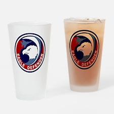 F-15 Eagle Defender Drinking Glass