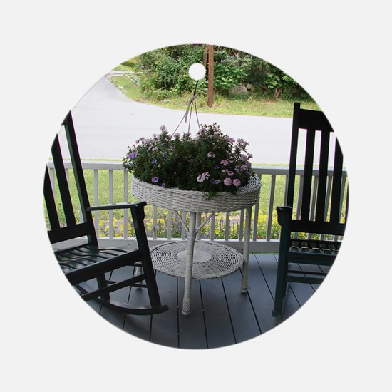 ROCKING CHAIRS™ Round Ornament