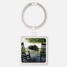ROCKING CHAIRS™ Square Keychain