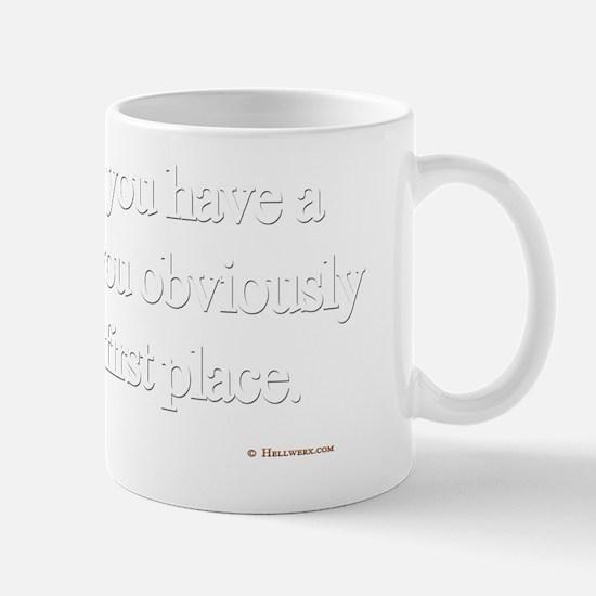 Know it all wht Mug