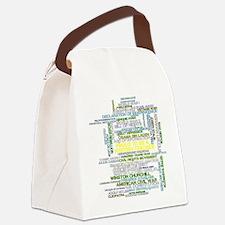Proud History Teacher Canvas Lunch Bag