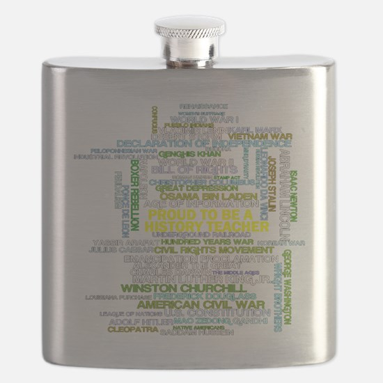 Proud History Teacher Flask