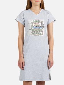 Proud History Teacher Women's Nightshirt