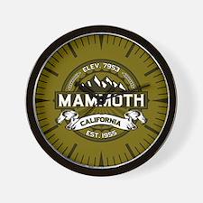 Mammoth Olive Wall Clock