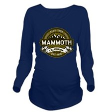 Mammoth Olive Long Sleeve Maternity T-Shirt