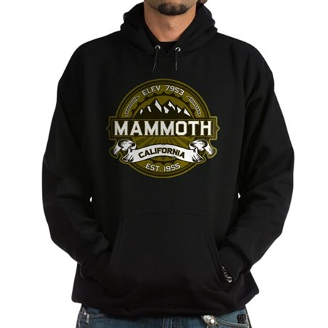 Mammoth Olive Hoodie (dark)