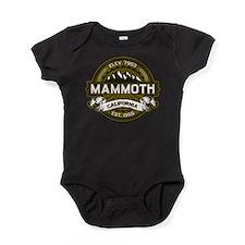 Mammoth Olive Baby Bodysuit