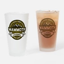 Mammoth Olive Drinking Glass