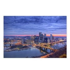 Early morning sunrise Postcards (Package of 8)