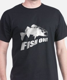 Walleye fish on T-Shirt