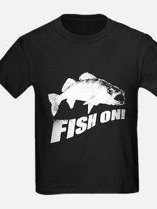 Walleye fish on T