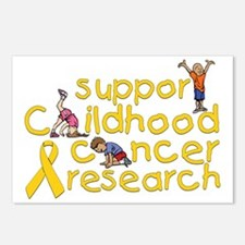 Support Childhood Cancer  Postcards (Package of 8)