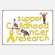 Support Childhood Cancer Research Banner