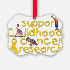Support Childhood Cancer Research Ornament