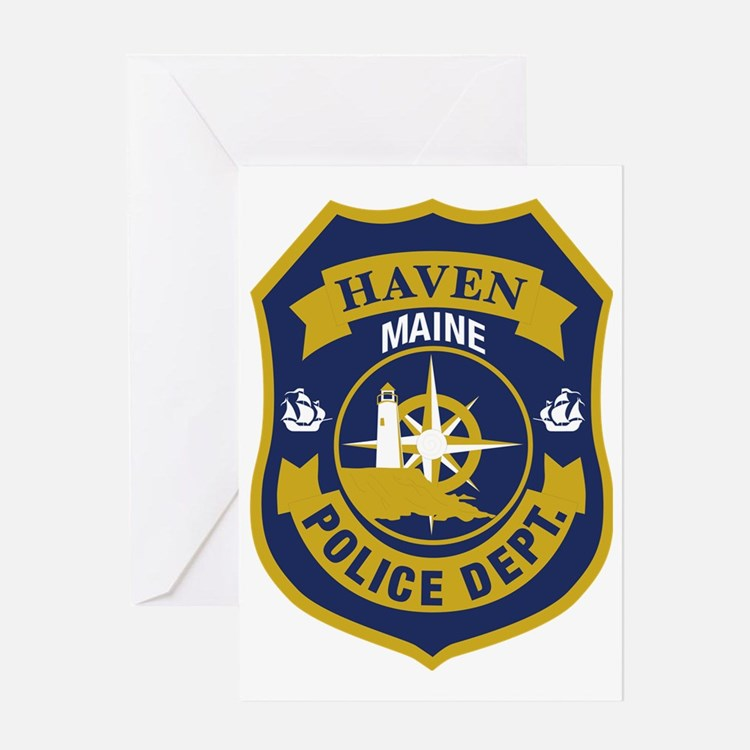 Haved PD logo Greeting Card