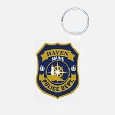 Haved PD logo Keychains