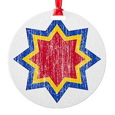 Modova 2 Roundel Aged Ornament
