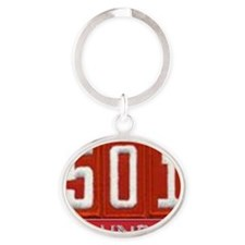 Pack 501 Founder Image Oval Keychain