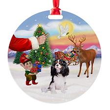 Tri Cavalier Ornament