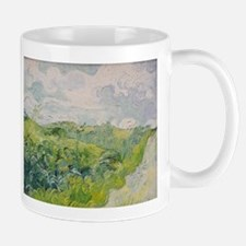 Green Wheat Fields - Van Gogh - c1889 Mug