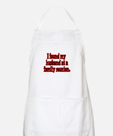 Found My Husband at Family Reunion BBQ Apron