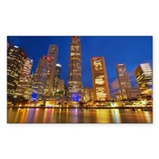 Singapore, Financial District, Decal