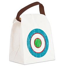 Uzbekistan Roundel Aged Canvas Lunch Bag