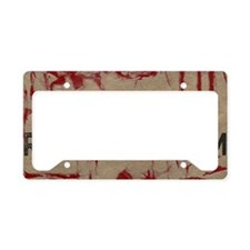 Zombie Response Team License Plate Holder