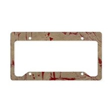 Zombie Outbreak Response Vehi License Plate Holder