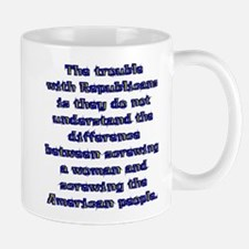 The Trouble with Republicans Mug