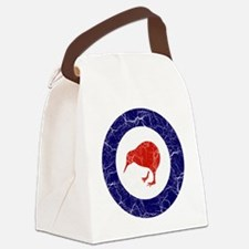 New Zealand Roundel Cracked Canvas Lunch Bag