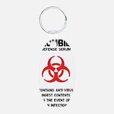 Zombie Defense Serum Keychains