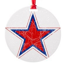 Russia Roundel Cracked Ornament