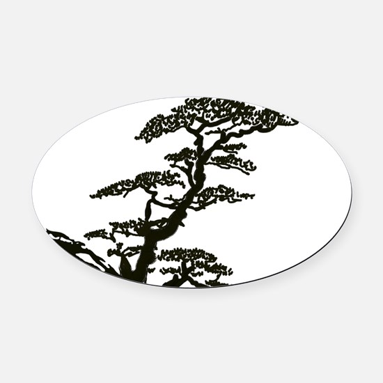 toiletry_bag Oval Car Magnet