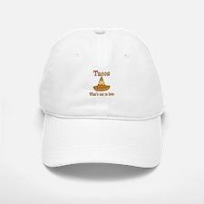 Tacos to Love Baseball Baseball Cap