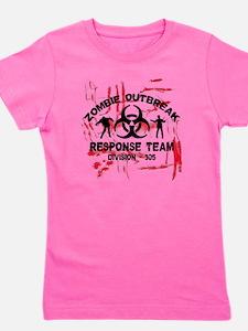 Zombie Response Team Girl's Tee
