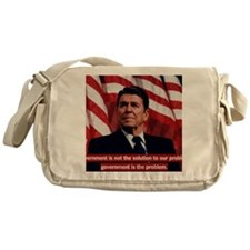 Government Is Not The Solution Messenger Bag