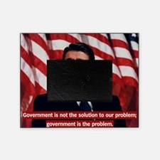 Government Is Not The Solution Picture Frame