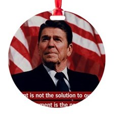 Government Is Not The Solution Ornament