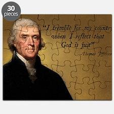 Thomas Jefferson God Quote Puzzle
