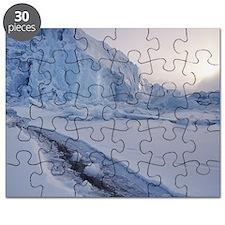 Norway, Svalbard, Spitzbergen, polar bear t Puzzle