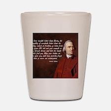 Samuel Adams Shot Glass