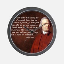 Samuel Adams Wall Clock