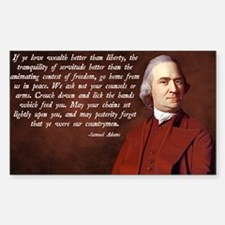 Samuel Adams Decal