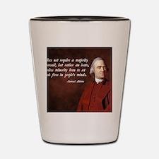 Samuel Adams Minority Quote Shot Glass