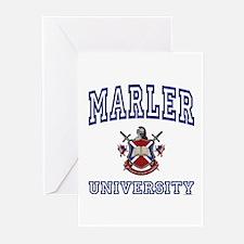 MARLER University Greeting Cards (Pk of 10)