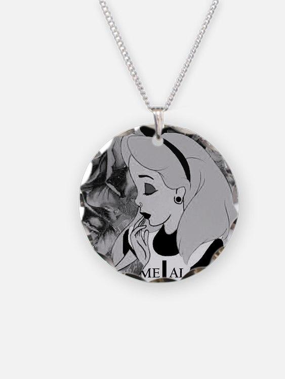 metal alice Necklace